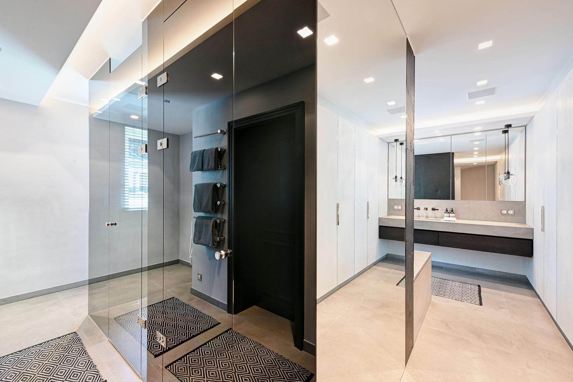 AED-Planung, luxus, geiles, schönes, modernes Badezimmer